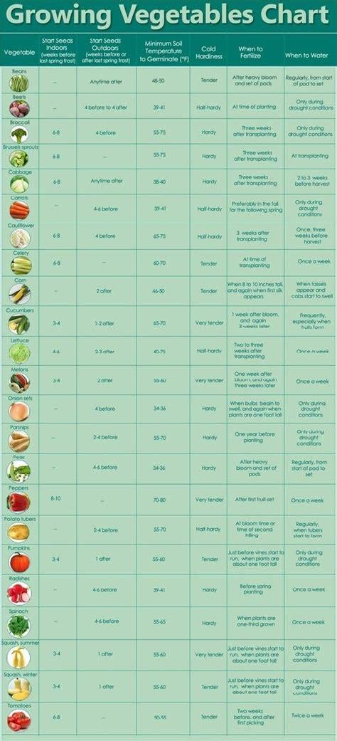 Vegetable Garden Timeline The Tasty Pinterest Roundup Get Your Garden On Charts