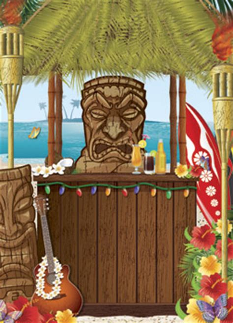 christmas in hawaii themed party graphic design hawaiian