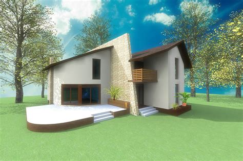 Home Design Concepts by Holiday Home House Design Concept Architecture Artlantis