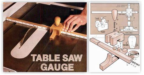 diy table  gauge woodarchivist