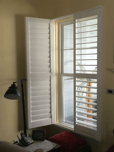interior louvered shutter efficient window coverings plantation shutter eclipse 3 1 2 inch louver clearview