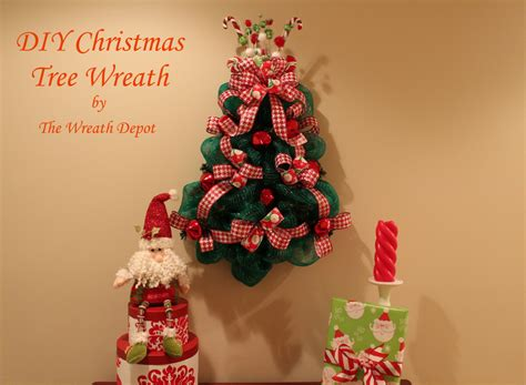 mesh ribbon christmas tree tutorial diy mesh deco wreath quot o tree quot the wreath depot
