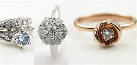 real antique engagement rings wedding promise
