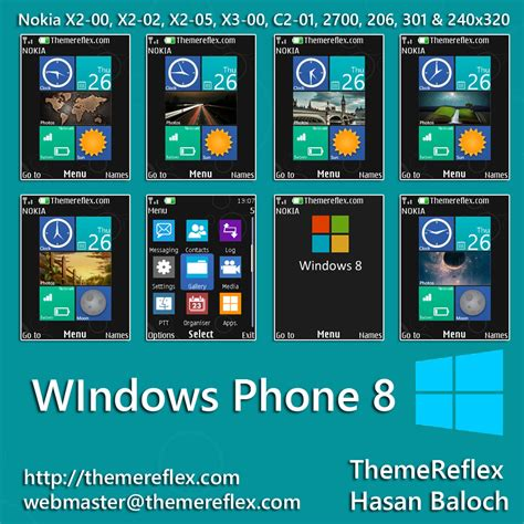 Themes Download My Phone | windows phone 8 live theme for nokia x2 00 x2 02 x2 05
