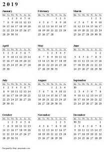 Calendar 2018 And 2019 Printable 2019 Calendar Printable Printable Calendar 2017
