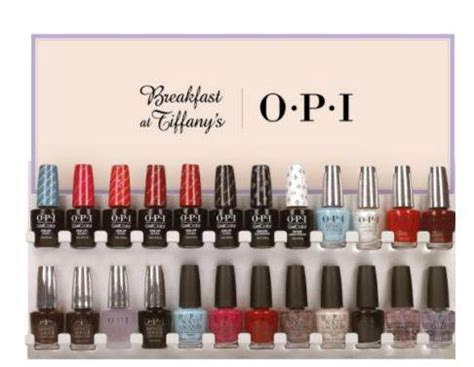 opi breakfast at tiffany s holiday 2016 collection