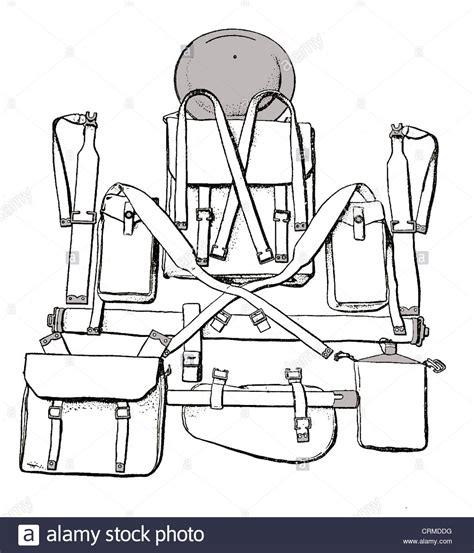 british 1937 pattern web equipment british ww11 1937 pattern web equipment marching order
