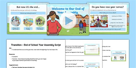 new year assembly ks1 script transition end of year assembly script and presentation