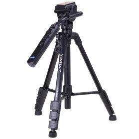 Yunteng Portable Lightweight Tripod Vct 60 Black Hitam 1 weifeng portable lightweight tripod wt