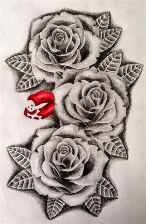 three roses tattoo 11d339746395ac946a3b0873072607a1 jpg 736 215 1129 tatto