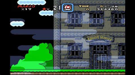 Hd Super Mario World Vanilla Ghost House Bonus Vanilla Dome 3 Tas Youtube