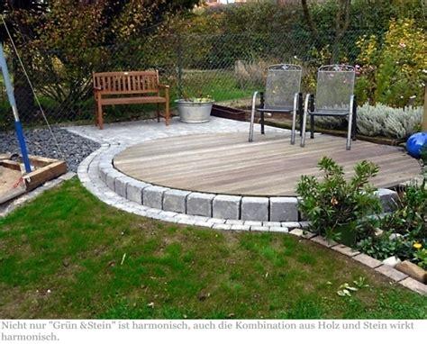 Terrassengestaltung Mit Steinen by Terrassengestaltung Mit Holz Terrasse Holz Und Stein