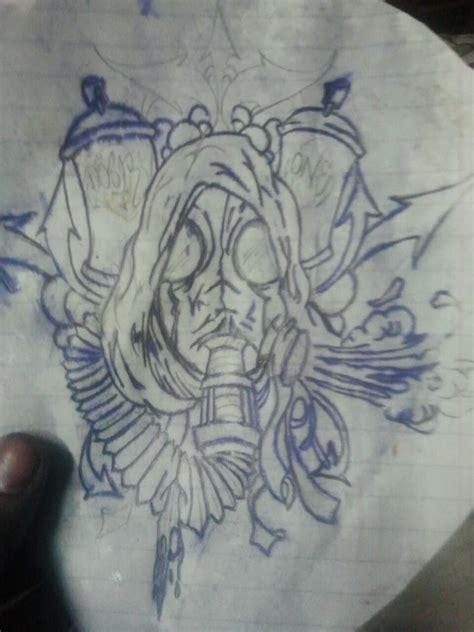 gas mask tattoo stencil by dose7601 on deviantart