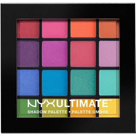 Eye Shadow Ultima 17 Best Ideas About Nyx Eyeshadow Palette On