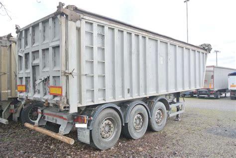 vasche ribaltabili usate semirimorchio vasca ribaltabile alluminio 42m acerbi usata