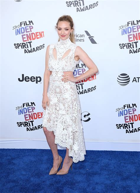 Independent Spirit Awards by Amanda Seyfried 2018 Independent Spirit Awards In
