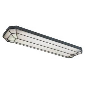 Flush Mount Fluorescent Kitchen Lighting World Imports Wi720242 4 Light Linear Fluorescent Flush Mount Ceiling Light Atg Stores