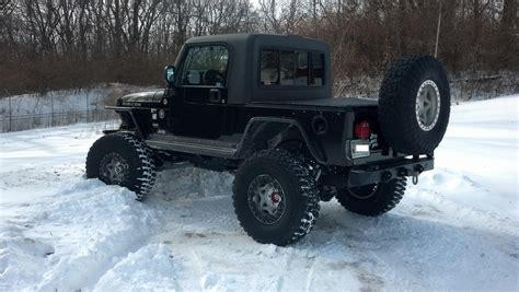 jeep half jeep jk unlimited half cab