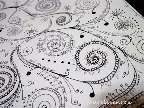 doodle meaning swirls four eleven rox doodling in the new year
