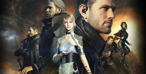 film final fantasy 1 review kingsglaive won t sell you on final fantasy xv