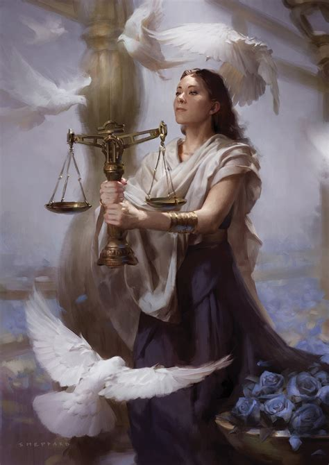 cal 2017 fantasy art of libra by sheppardarts on