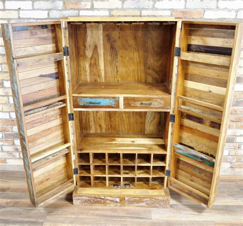 reclaimed wood bar cabinet back in stock large reclaimed wood drinks cabinet