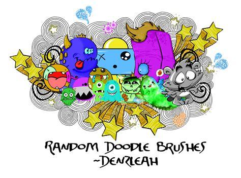 doodlebug brush random doodle brushes by denzleah on deviantart