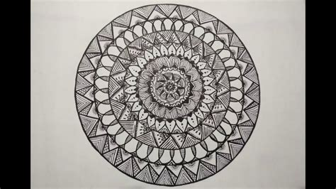 mandala pattern youtube zentangle mandala basic patterns craftycreations