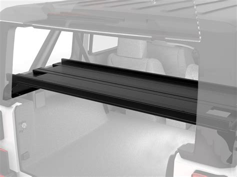 jeep wrangler 2 door storage jeep wrangler jku 4 door cargo storage interior rack by