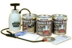 rustoleum concrete stain kit rust oleum professional semi transparent concrete stain