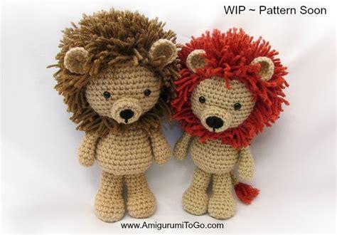 amigurumi lion lions and updates amigurumi to go
