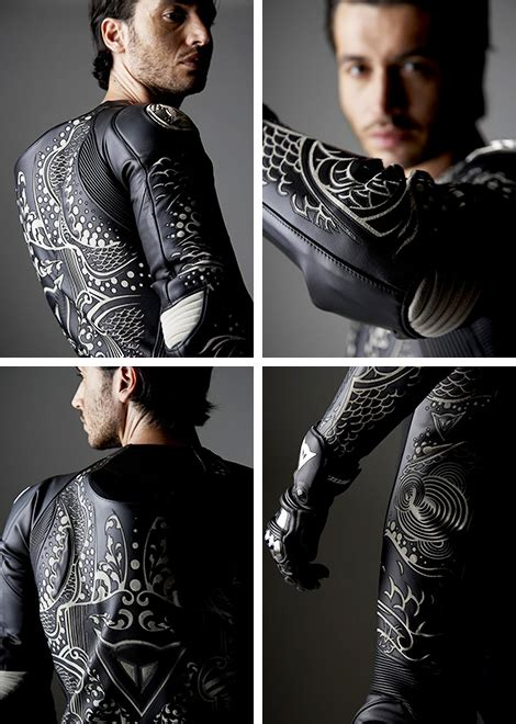 suits and tattoos dianese racing suit