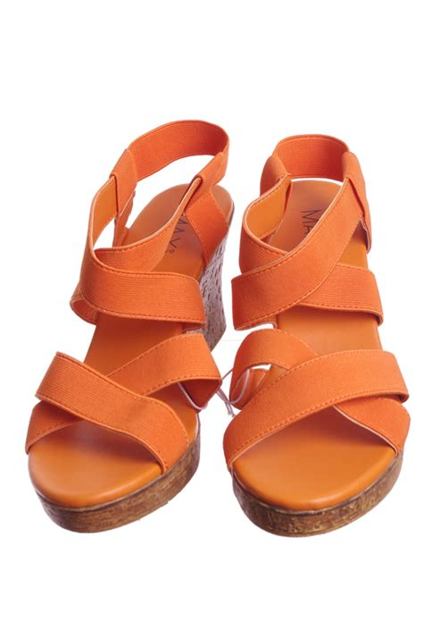 orange dress sandals orange dress shoes