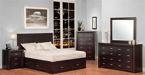 Single Bedroom Furniture Sets Contempo Bedroom Set 1 Millbank Family Furniture