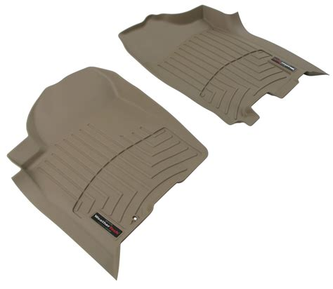 floor mats by weathertech for 2009 titan wt450191