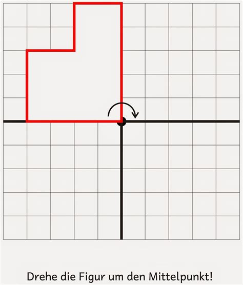 tafelmaterial zur drehsymmetrie mathe symmetrie mathe