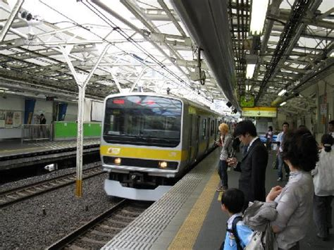 suidobashi train station picture  tokyu stay