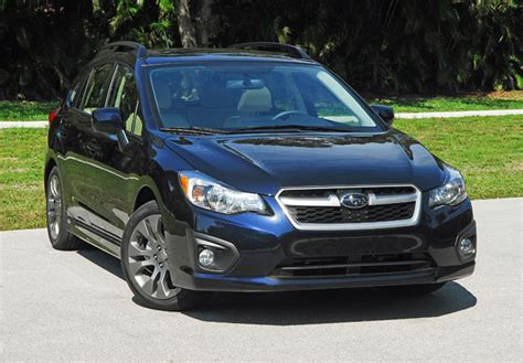 2014 subaru impreza 2 0i 5 door limited review test drive