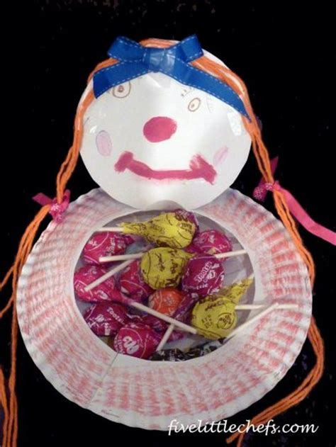 Paper Plate Clown Craft - construction paper crafts for kidsfun family crafts page 7