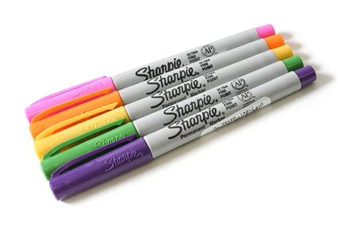 Sharpie Giveaway - sharpie 80s glam permanent marker pens giveaway the pen addict