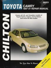 car repair manuals download 1997 lexus es windshield wipe control toyota camry automotive repair manual all toyota camry and avalon html autos weblog