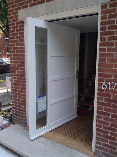 Pivot Exterior Door Pivot Door Contemporary Front Doors Philadelphia By A K Custom Interiors