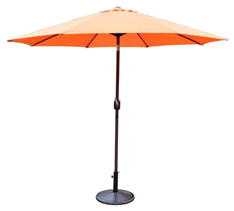 12 Patio Umbrella Patio Umbrella In Orange Furniture D 233 Cor Store