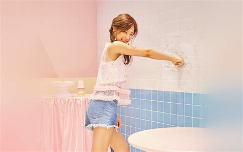 hn tzuyu kpop  girl cute pink wallpaper