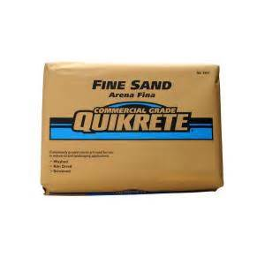 home depot sand unimim 75 lb ind5020 silica sand 691275 the home depot