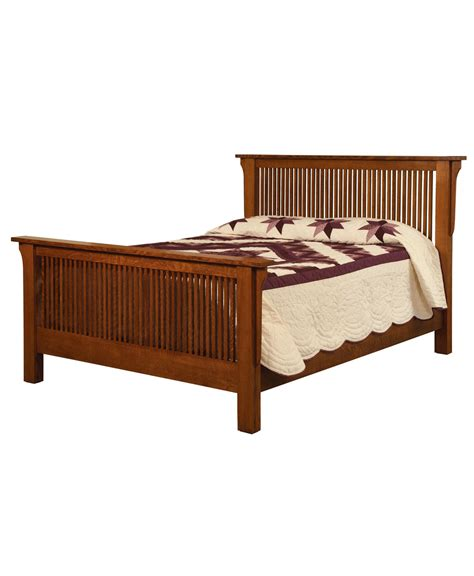meadow mission bed amish direct furniture
