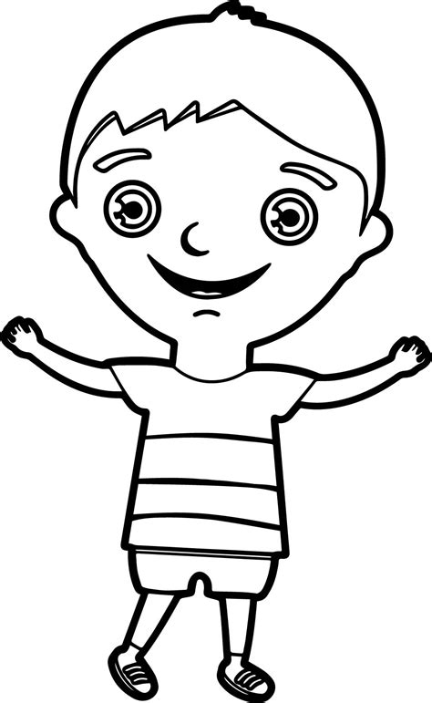 coloring pages with child s name happy boy coloring page wecoloringpage