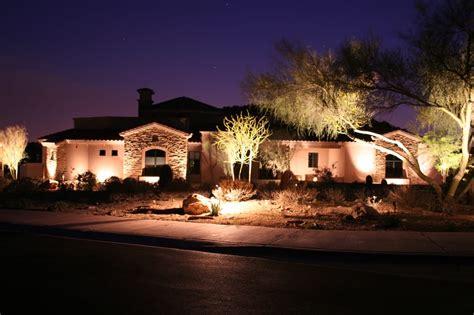 arizona desert frontyard with lighting package yelp