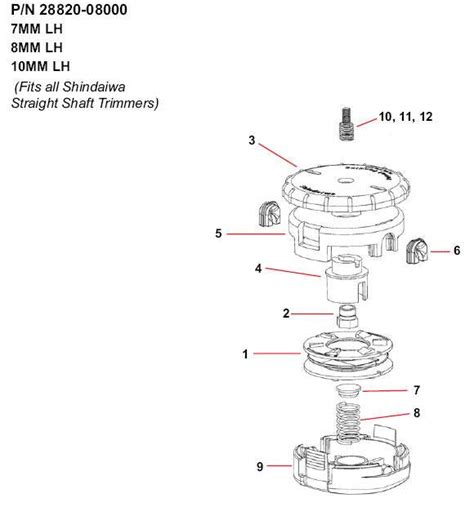 shindaiwa trimmer parts diagram shindaiwa speed feed 450 parts diagrams lawnmower