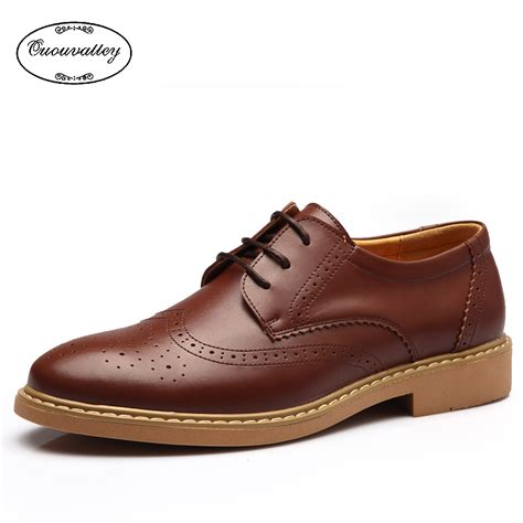 best mens oxford shoes new 2016 flat shoes vintage carving brogue oxford
